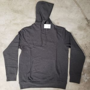 H&M Charcoal Gray hoodie size L